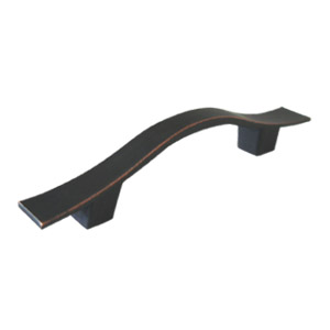 Metro Cabinet or Drawer Pull Handle, Oil Rubbed Bronze