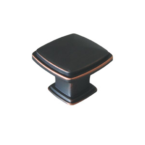 Park Avenue Cabinet and Drawer Pull Handle, Oil Rubbed Bronze