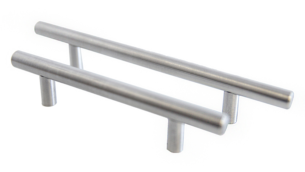 "Design House 205641 8"" Truss Pull, Stainless Steel"