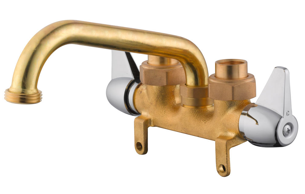 Design House 545749 Ashland Laundry Tub Faucet, Brass