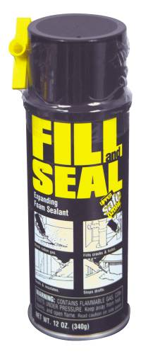 FILL AND SEAL EXPANDING FOAM SEALANT, 12 OZ.