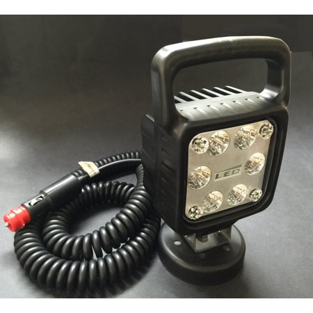 Portable HD Magnetic LED Work Light w/Switch And Cord