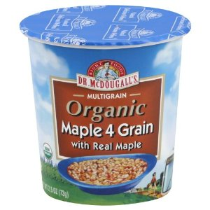 Dr. McDougalls Maple 4 Grain Hot Cereal Cup (6x2.5 Oz)