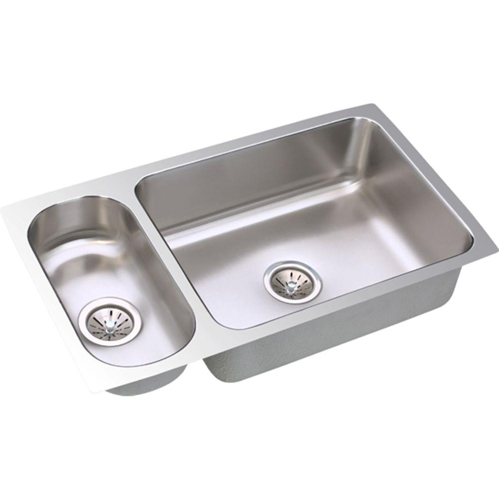 Only $618.60 32-1/4X18-1/4 Double Bowl Stainless Steel Undercounter ...