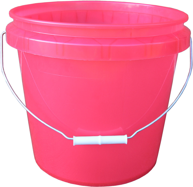 250065 3.5G RED TRANS PAIL