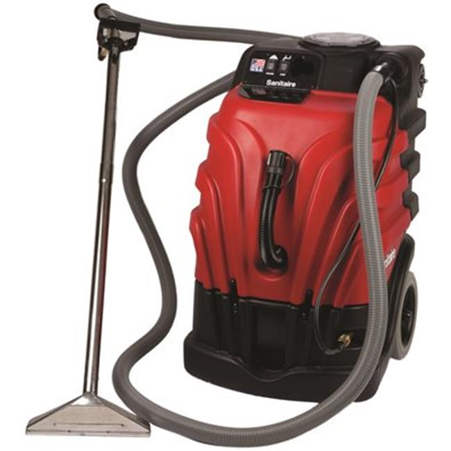 SANITAIRE� CARPET EXTRACTOR WITH HEATER, 12 AMPS. COMMERCIAL MOTOR, 10.0 GALLON TANK