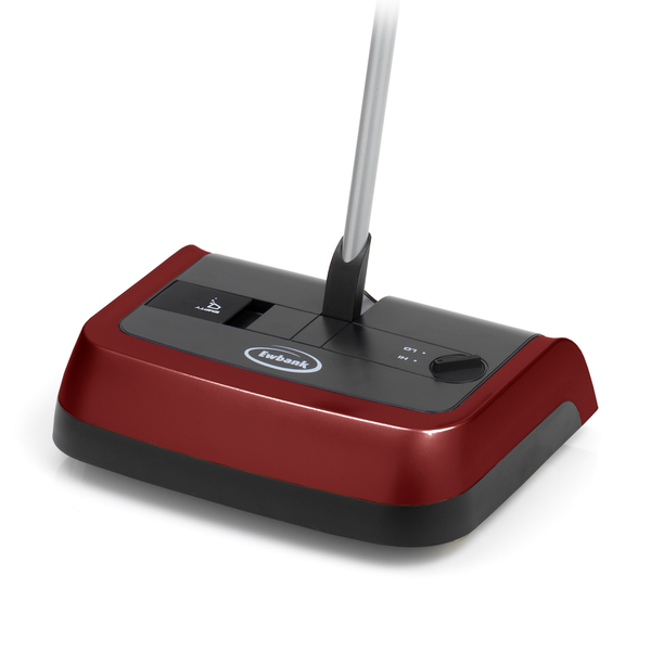 Ewbank 830 Evolution 3 Bagless Manual Floor and Carpet Sweeper with Large Dustpan, Red Finish