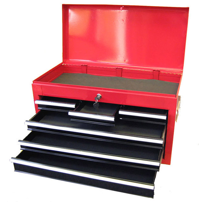 Only 11068 Excel 26 Steel top chest with 6 ball bearing slide
