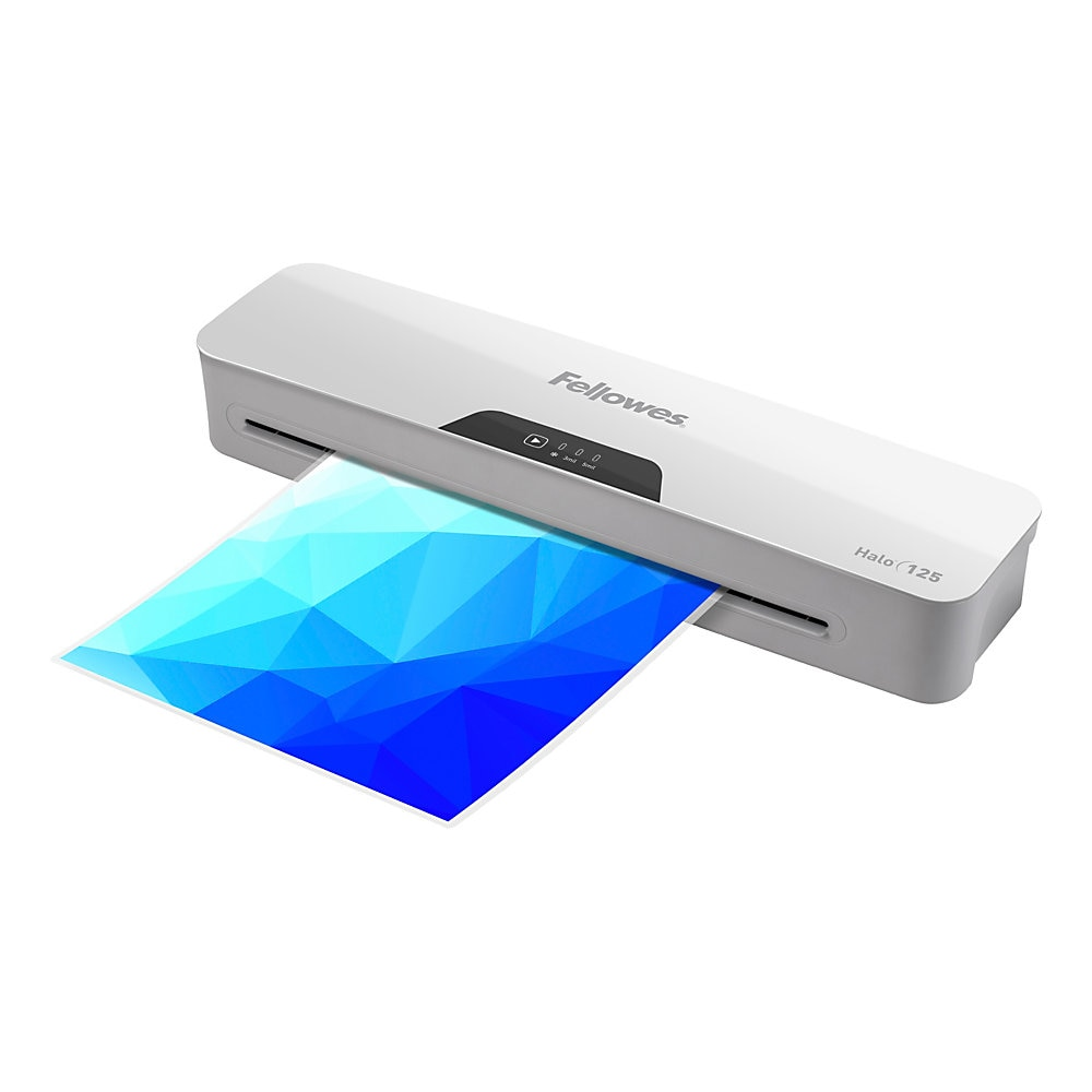"Halo Laminator, 2 Rollers, 12.5"" Max Document Width, 5 mil Max Document Thickness"