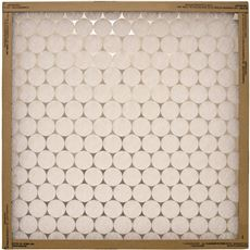 FLANDERS� EZ FLOW� MERV 4 FLAT-PANEL FIBERGLASS DISPOSABLE AIR FILTER, 9X35X1/2 IN.