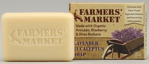 Farmer's Market Bar Soap Unscented (1x55 Oz)