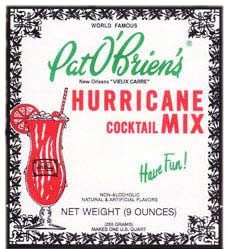 Franco's Hurricane Cocktail Mix