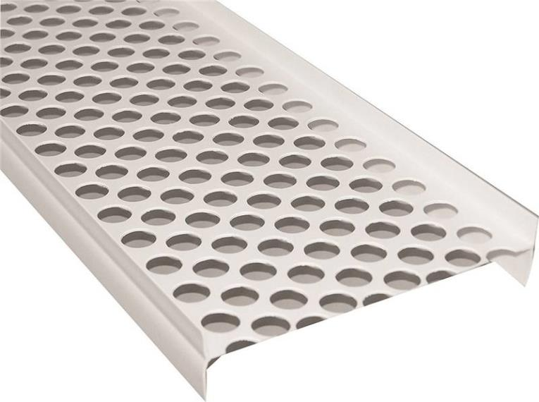 Raingo RW115 Gutter Guard, 5 ft L, For Use With Symmetrical Gutter System