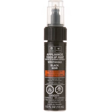 GE� APPLIANCE TOUCH UP PAINT STICK, .5 OZ., BLACK ONYX