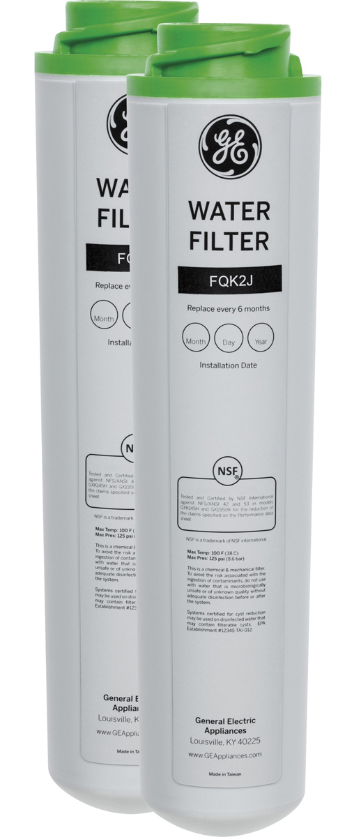 GE� DUAL FLOW DRINKING WATER REPLACEMENT FILTER