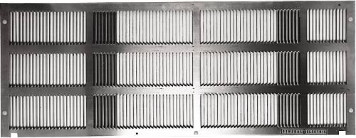 GE ZONELINE STAMPED ALUMINUM EXTERIOR REAR GRILLE