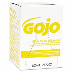Gold & Klean Lotion Soap Bag-in-Box Dispenser Refill, Floral Balsam, 800mL