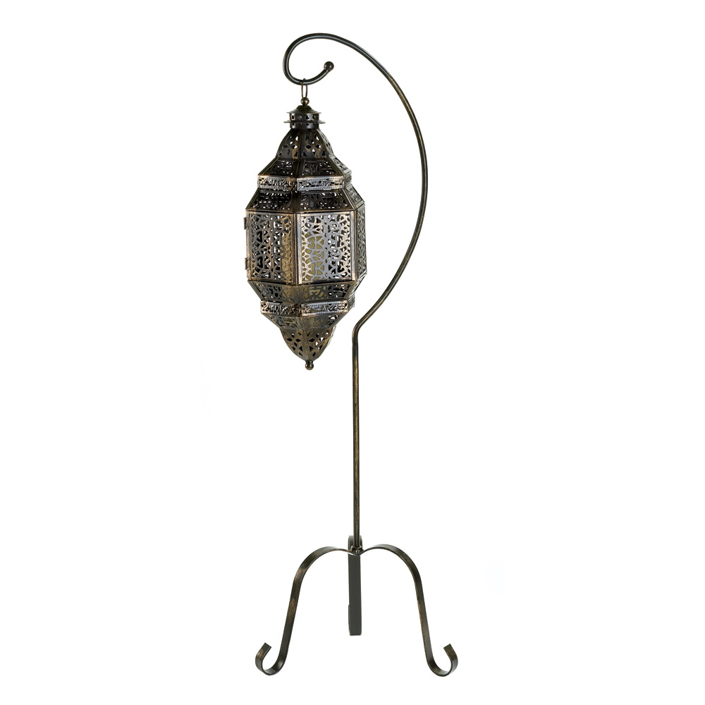 Moroccan Candle Lantern Stand