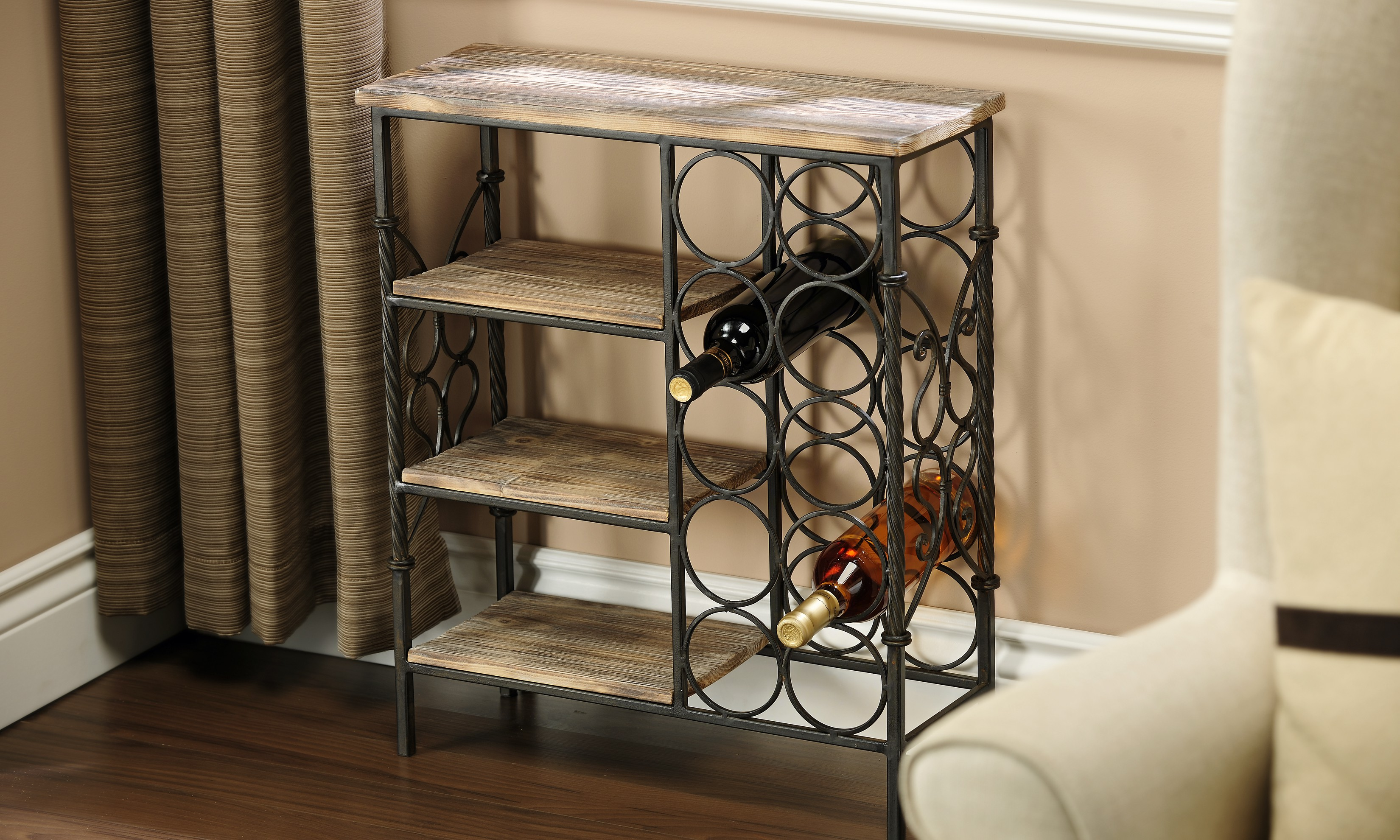 Wine Rack Table + Freight