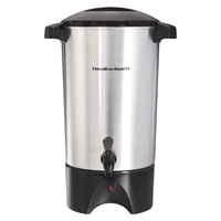 West Band 58030 Coffee Urn, 120 VAC, 1090 W, Aluminum