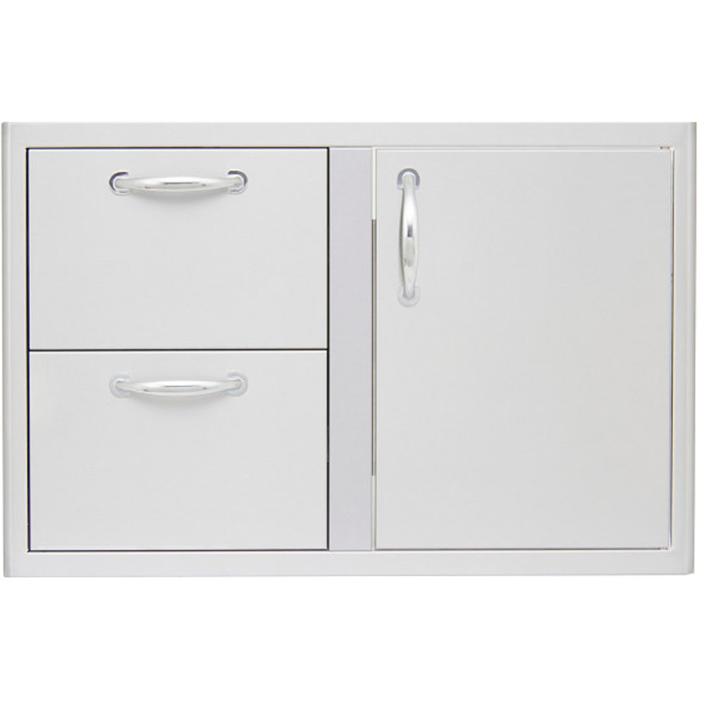 "32"" Door/Double Drawer Dry Pantry - for 4-Burner"