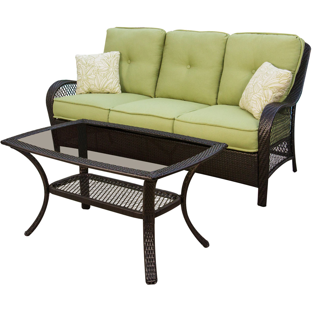 Orleans Sofa and Coffee Table
