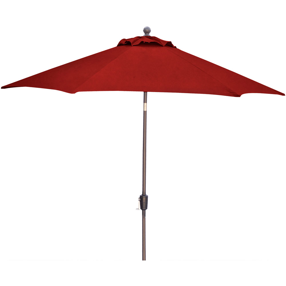 Traditions 9' Market Umbrella in Red