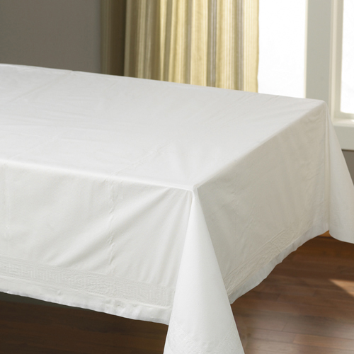 Cellutex White Table Covers, 25 Covers
