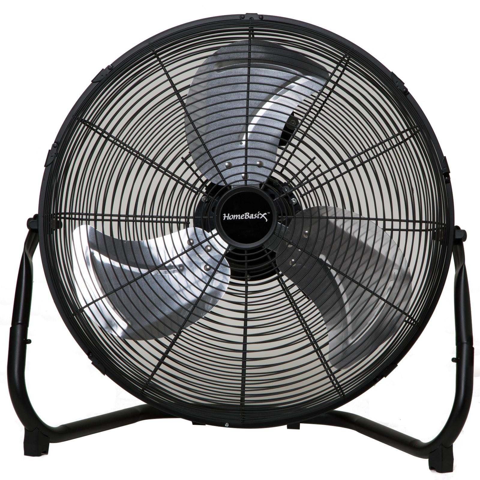 Black Floor Fan : Only floor fan high velocity in black