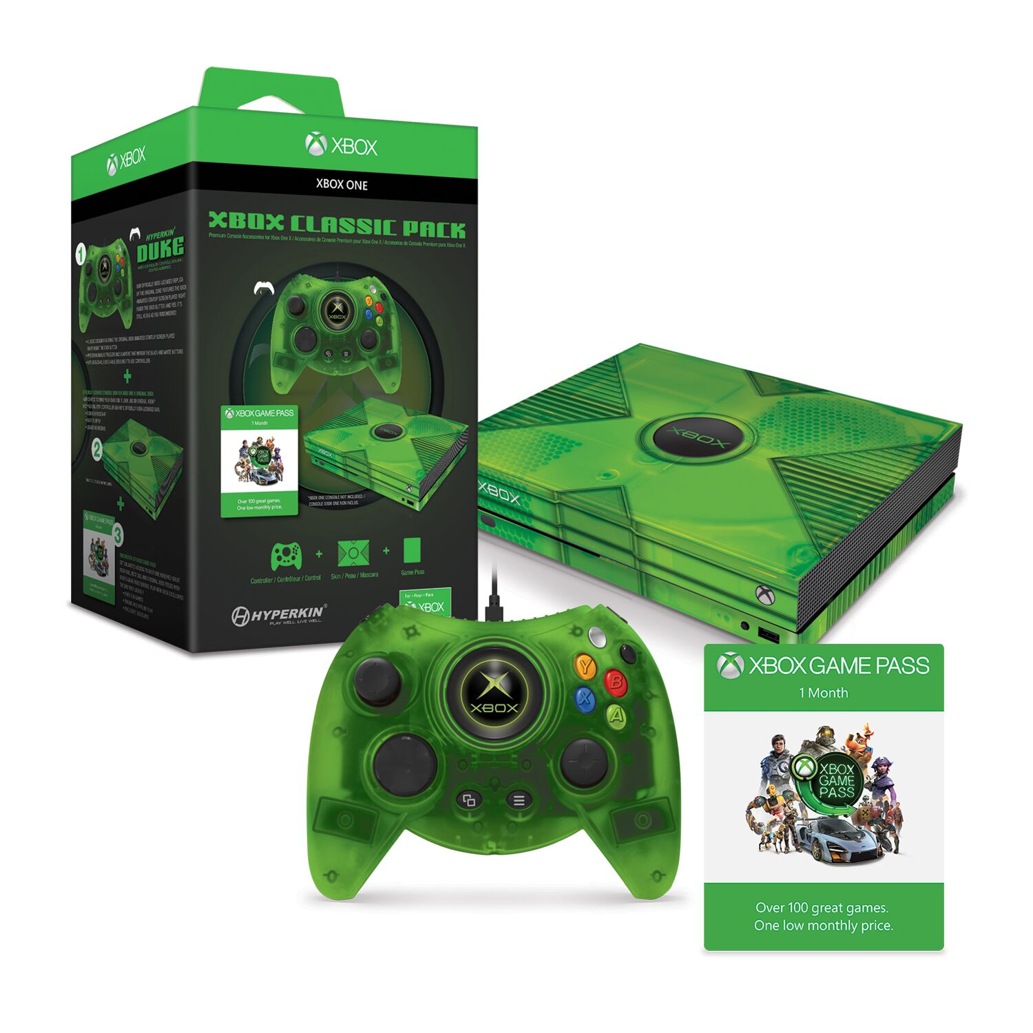 HYPERKIN M07374 XBOX CLASSIC PACK FOR XBOX ONE X COLLECTORS