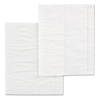 Choice Meat Tray Pads, Foam, 4-1/2w x 6d, White