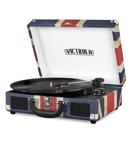 Victrola Bluetooth Suitcase Record Playe