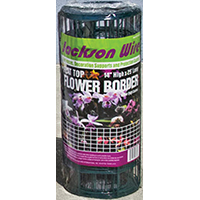 Color Guard 13015330 Wire Flower Fence, 25 ft L X 14 in H, Steel