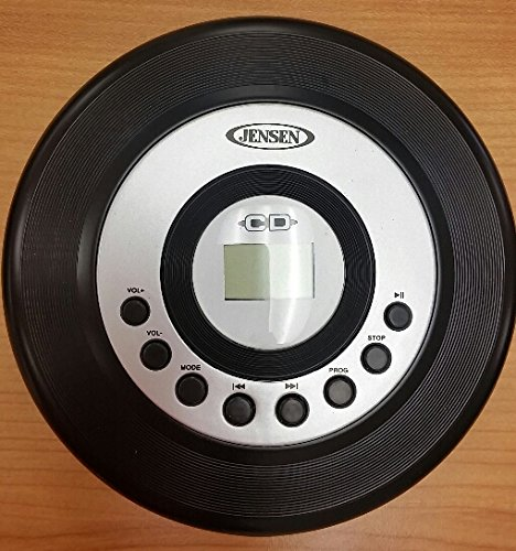 JENSEN CD60 PERSONAL CD PLAYER WITH 60 SECOND ANTI SKIP AND