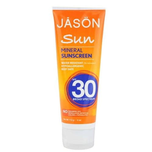 Jasons SPF 30+ Chemical Free Sunblock (1x4 Oz)