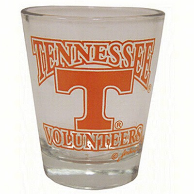 Shot Glass T Vol - Tennessee Volunteers