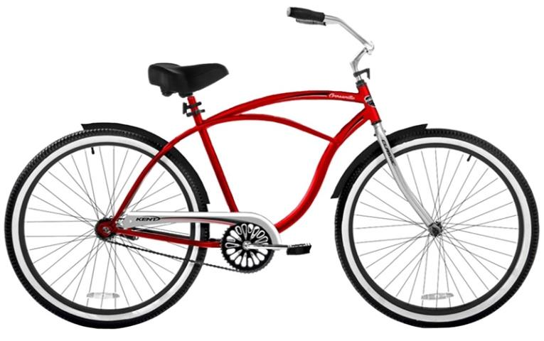 CRUISER MENS STEEL RED 26IN