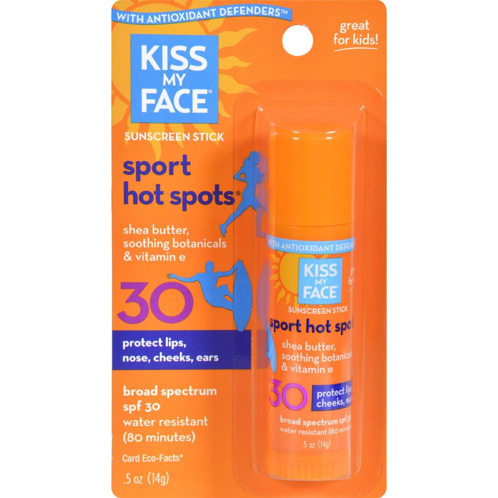 Kiss My Face - Sun Care Hotspots Spf 30 ( 6 - .5 FZ)