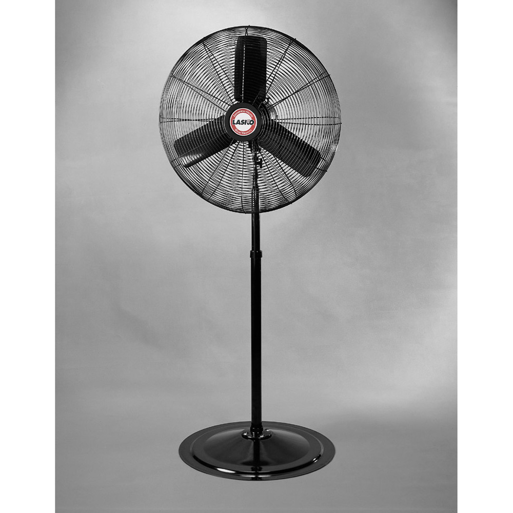 Industrial Floor Fans Home Depot : Only quot osc industrial pedestal fan speeds