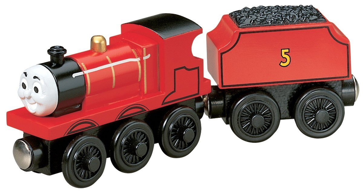 Thomas And Friends Wooden Railway James the Red Engine