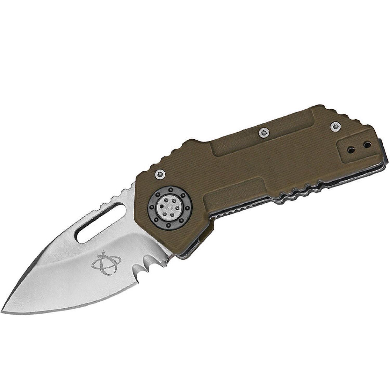 Mantis MK14P Vicious Circle 1.5 in Blade Polished SS Handle MK14P