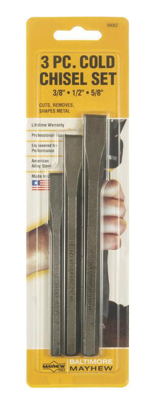 89062 3PC COLD CHISEL SET
