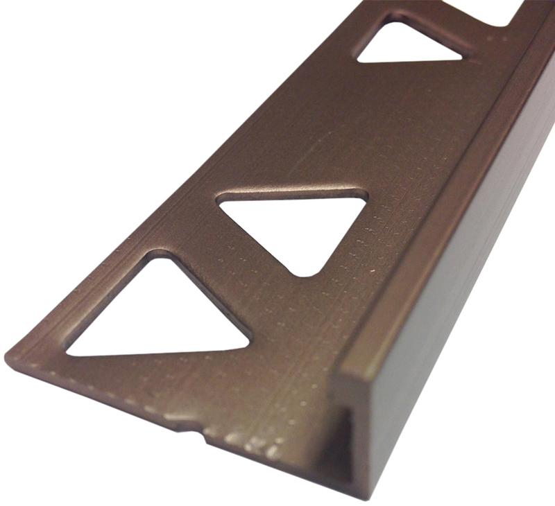 31353 3/8X96 STN BRZ TILE EDGE