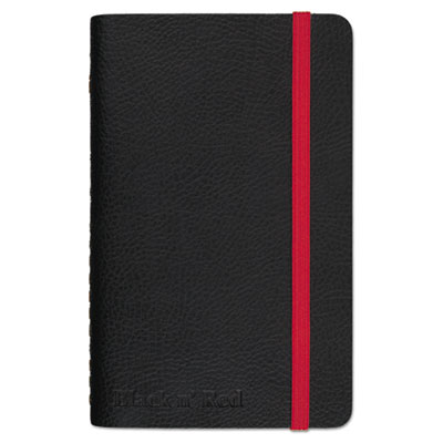 Soft Cover Notebook, Legal Rule, Black Cover, 5 1/2 x 3 1/2, 71 Sheets/Pad