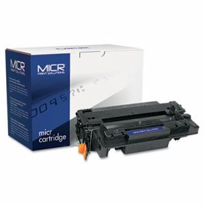 Compatible with CE255XM MICR High-Yield Toner, 12,500 Page-Yield, Black