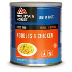 Mountain House #10 Can, Noodles & Chicken