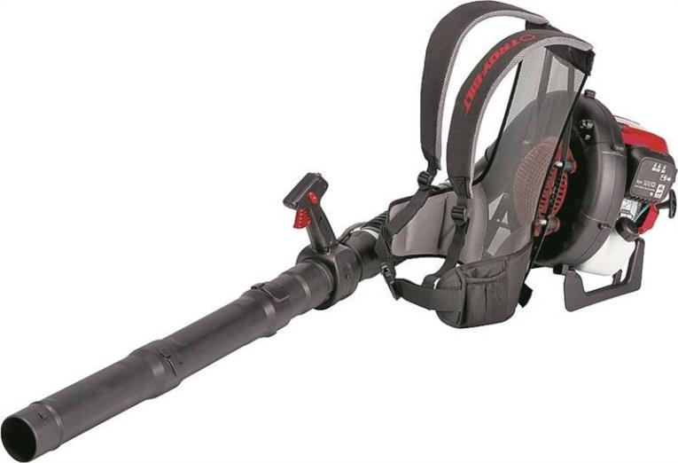 Troy Bilt TB4BP Backpack Blower, 475 cfm, 150 mph, 32 cc