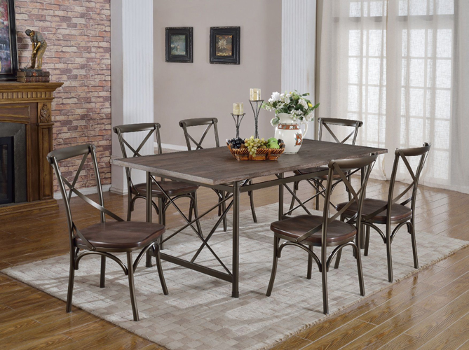 Anderson Rustic Brown Sideboard