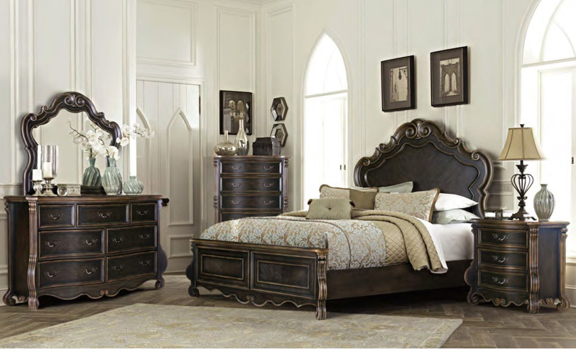 Bedroom Bordeaux Lift Top Chest