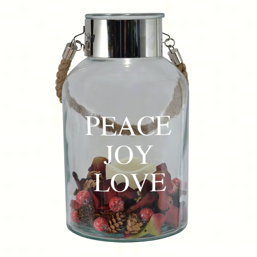Peace, Love, & Joy Expression Canister